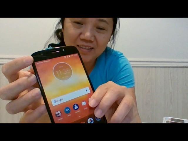 Motorola Phone Unboxing Verizon Wireless Prepaid Moto E5 Play 16GB Memory 8MB Front 5MB Rear