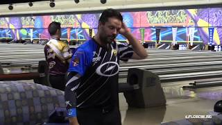 During the second round of match play at the 2019 Go Bowling PBA In...