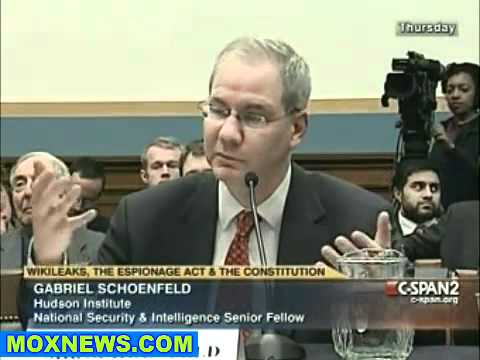 Congressional Hearing  WikiLeaks, The Espionage Act   The Constitution pt.12.flv