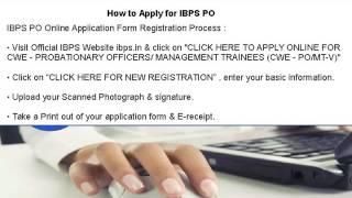 IBPS PO Exam Online Mock Test Series - IBPS PO Online Practice Test