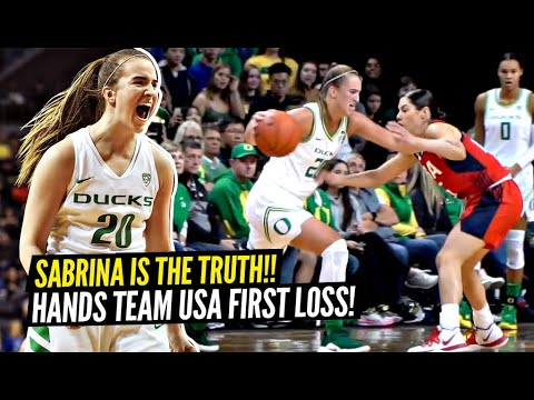 Sabrina Ionescu Comes Up Big in Moments On and Off the Court