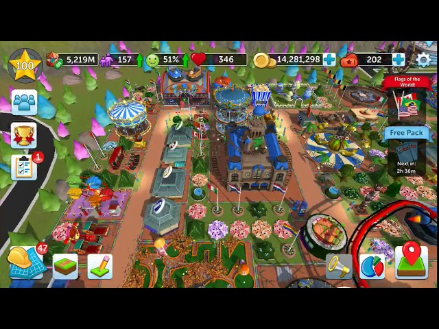RollerCoaster Tycoon Touch android