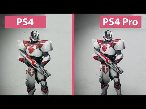 Destiny 2 – PS4 vs. PS4 Pro Beta Frame Rate Test & Graphics Comparison