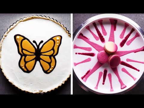 13-creative-ways-to-turn-tart-into-art!-|-how-to-decorate-dessert-by-so-yummy
