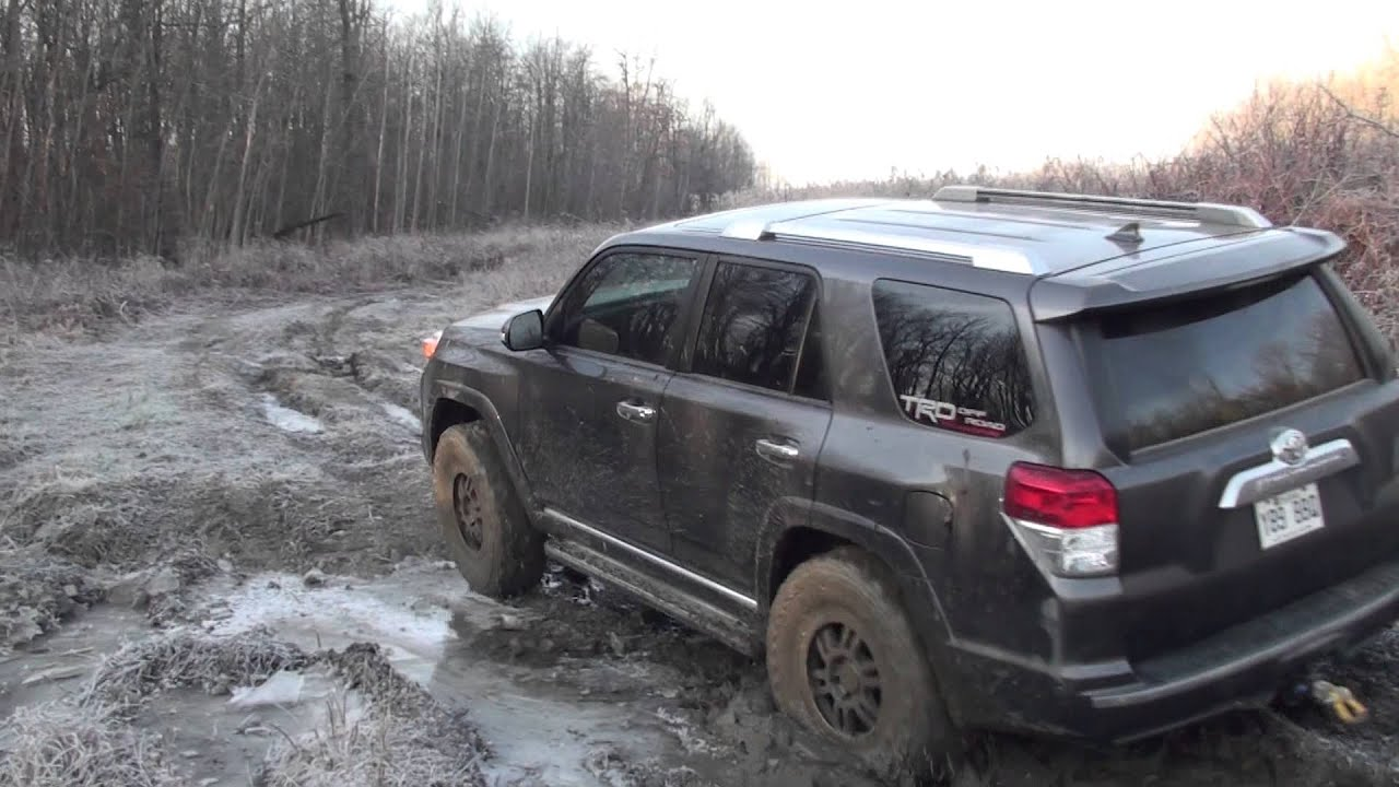 4runner Off Road Mud And Ice 3 Youtube