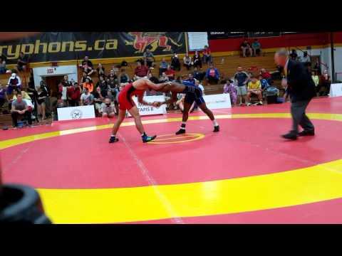2015 Canada Cup: 74 kg Final Iylasov Talgat (AUS) vs. Nate Carr (USA)