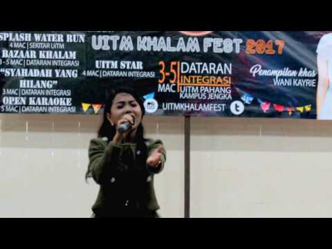 Wani Kayrie - WARKAH UNTUKKU (LIVE) @ UiTM Jengka