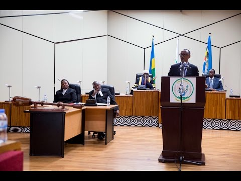 President Kagame speaks at the EALA Special Sitting | Kigali, 6 March 2017