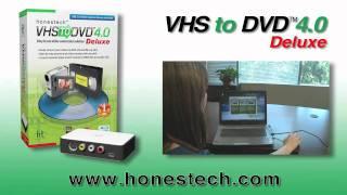 VHS To DVD Video Tutorial