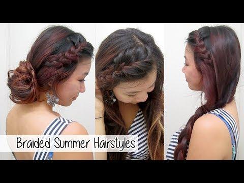 Versatile Braided Summer Hairstyles L Cute & Easy School