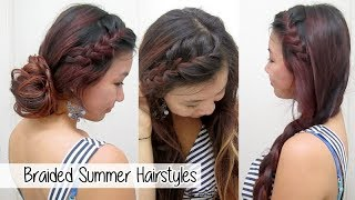 Versatile Braided Summer Hairstyles l Cute & Easy School Hairstyles