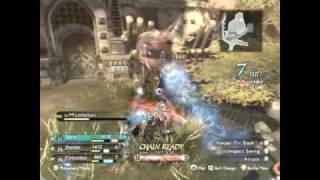 MagnaCarta 2 Leviathan Battle (close call)