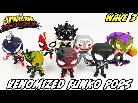 Venomized Marvel Funko Pops Wave 3!