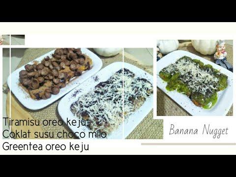 resep-banana-nugget,-bonus-resep-toping-cream-tiramisu-greentea