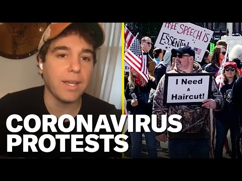 Why the Coronavirus Lockdown Protests Are Happening | Pod Save America