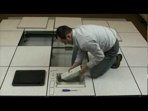 Wiremold How To Remove Or Install Evolution Floor Box
