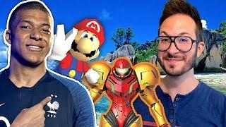 Mario 64 x Kylian Mbappé, Arabie Saoudite bannit 47 jeux ? Metroid au ciné ?