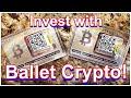 How To Set Up Ballet Crypto Pro Seedphrase (BIP38 Intermediate Code)