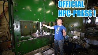 How To Use 150 Ton Hydraulic Press