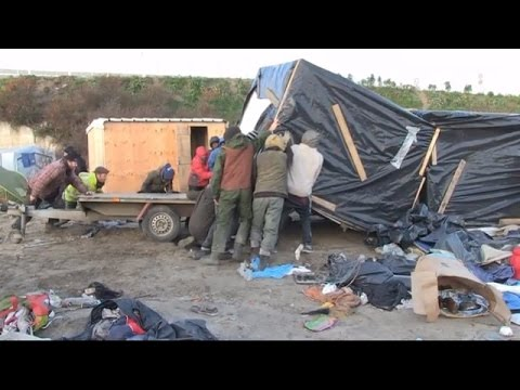 LIVE from South Calais refugee camp after eviction order issued
