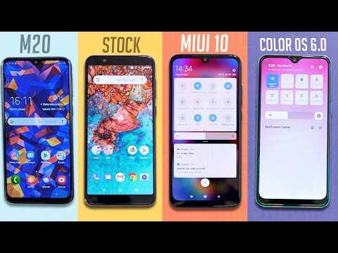 COLOR OS 6 Vs MIUI 10 Vs STOCk Vs SAMSUNG UI !! BATTLE Kon Hai Sher🔥🔥