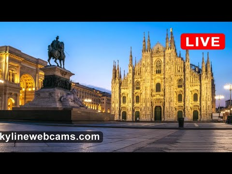 🔴 Live Webcam from Milan - Visit the Duomo in real time