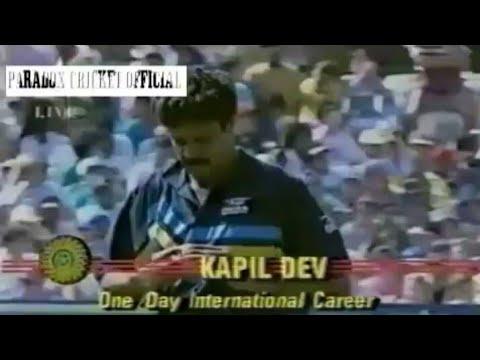 Kapil Dev MAN OF THE MATCH PERFORMANCE vs SA,1992 | *VINTAGE RARE*