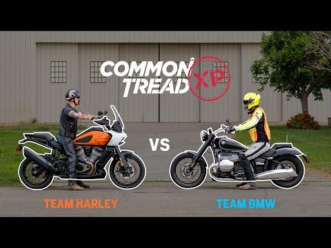 Is Harley's ADV Better than BMW's Cruiser? R1250GS vs Pan America & R18 vs Softail Slim | CTXP | Foci