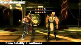 Mortal Kombat 9 - Tutte le fatality + babality di Kano (2011)