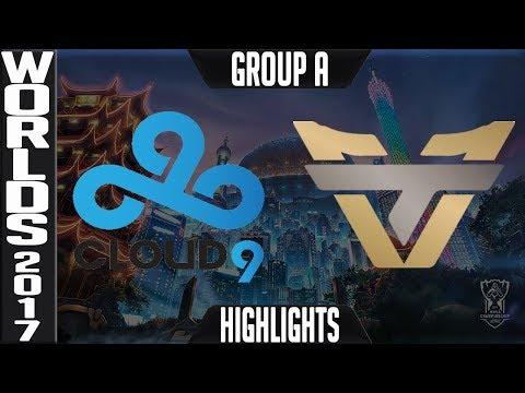Cloud 9 vs oNe Esports Highlights S7 Worlds 2017 Play in Group A   LoL World Championship C9 vs ONE