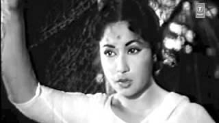 meena kumari..film dil apna aur preet parayee..singer..lata mangeshkar (two clips..complete video..)