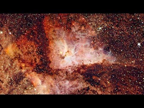 Zoom into the Carina Nebula