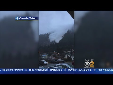 Avalanche Strikes Mount Juneau In Alaska