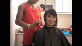 Download Getting An Asian Mullet Mp3 and Videos