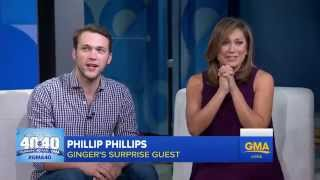Transcript for GMA 40th Anniversary, Ginger Zee is Favorite Moments