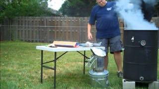 Big Iron Bbq Pulled Pork On Ugly Drum Smoker