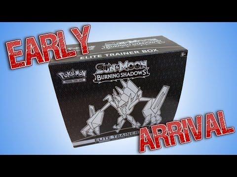 Burning Shadows Elite Trainer Box Opening!