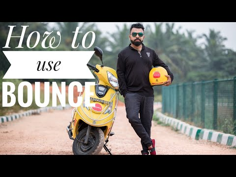 How To Use Bounce Keyless Scooter|About Bounce Bike| Wicked Ride| Best Rental Bike App| Bengaluru