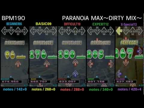 DDR 2nd / PARANOiA MAX~DIRTY MIX~ - SINGLE