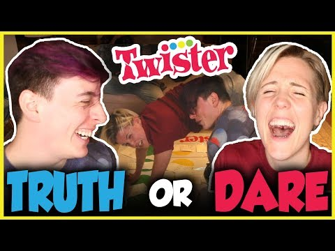 Twister TRUTH OR DARE with Hannah Hart! | Thomas Sanders