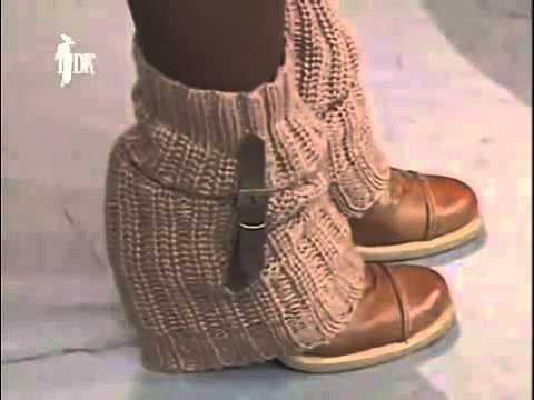 видео: Как сшить модные гетры самостоятельно. Шитьё для начинающих