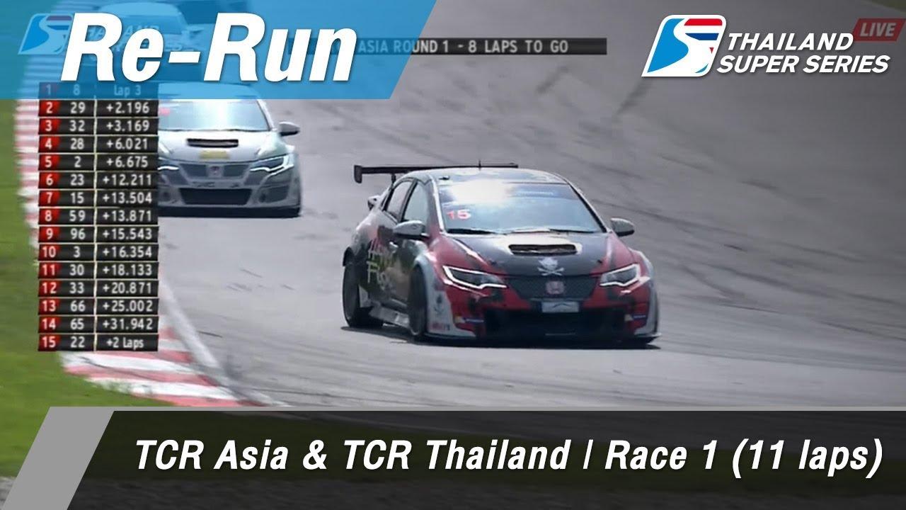TCR Thailand : Sepang International Circuit Malaysia 1 Api 2018