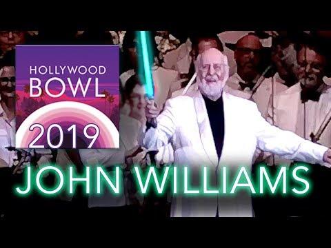 John Williams at the Hollywood Bowl - Themes from Galaxy's Edge, Star Wars, Jurassic Park & More