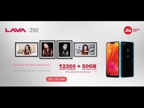 LAVA Z92 Video clips - PhoneArena