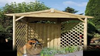 Garden gazebo ideas For small space