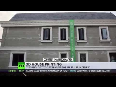 Thumbnail: China prints 3D houses: Districts of luxury villas to appear at push of button?