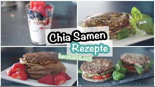 CHIA SAMEN Rezepte | herzhaft & süß  | Kisu