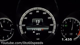 2013 mercedes benz e350 coupe 0 60 mph
