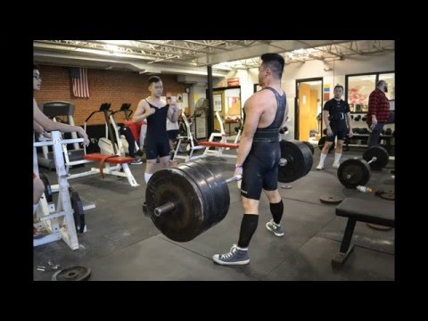 Wang YMCA Powerlifting at the 3rd Annual St. John's Raw Classic 2016