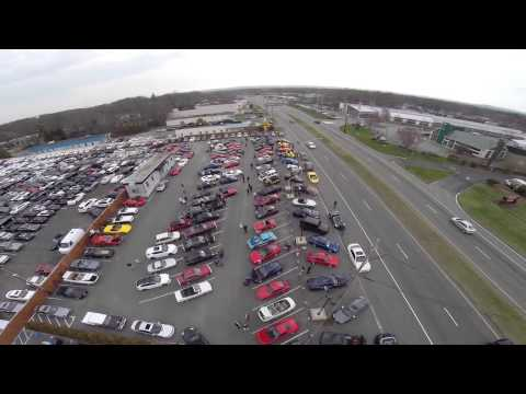 Aerial Views of The Paul Miller Porsche Cars